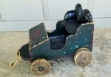 Folk Art Car Pull Toy