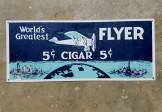 Tin Cigar Sign