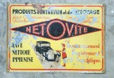 1920s French Automotive Sign