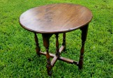 18C Miniature Oak Gaming Table