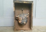 Folk Art Bull Head