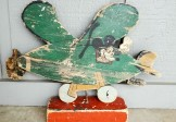 1930s Mickey Mouse Airplane Whirligig