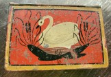 1810-1830 Tole Painted Tin Snuff Box