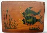 Folk Art Fly Fishing Lure Box